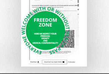 freedom zone - no QR used for oppression